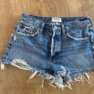 Agolde LA denim shorts
